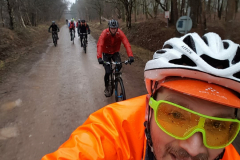 Whatever the weather, there is always room for a 'Rob Selfie'