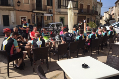 Mid ride Mallorca coffee break